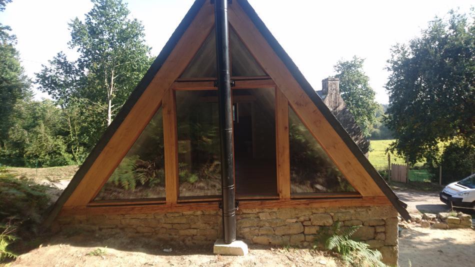 Charpente traditionnelle dune maison individuelle charpente bretagne cha